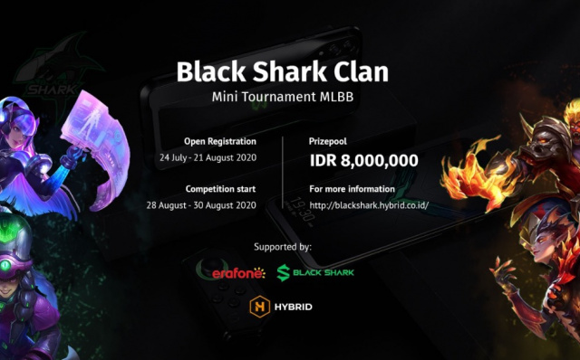 Black Shark Clan Mini Tournament, MLBB Amateur Player Competition Stage from Black Shark