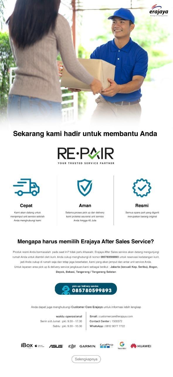 Erajaya Group Launches Re Pair After Sale Service Services With Door To Door D2d Facilities Erajaya
