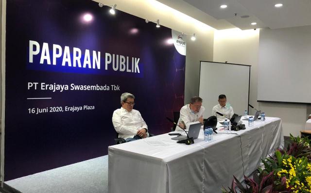 Annual GMS PT Erajaya Swasembada Tbk Erajaya Appointed Joy Wahjudi as Vice President Director