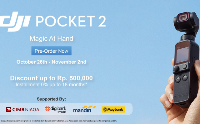 Erajaya Group and DJI Presents DJI Pocket 2 and DJI Ronin S Series