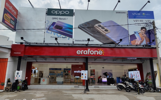 Erajaya Group Officially Opens 14 Outlets in 13 Cities